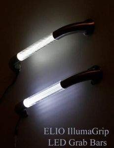 ELIO Illuma Grip LED Grab Bars