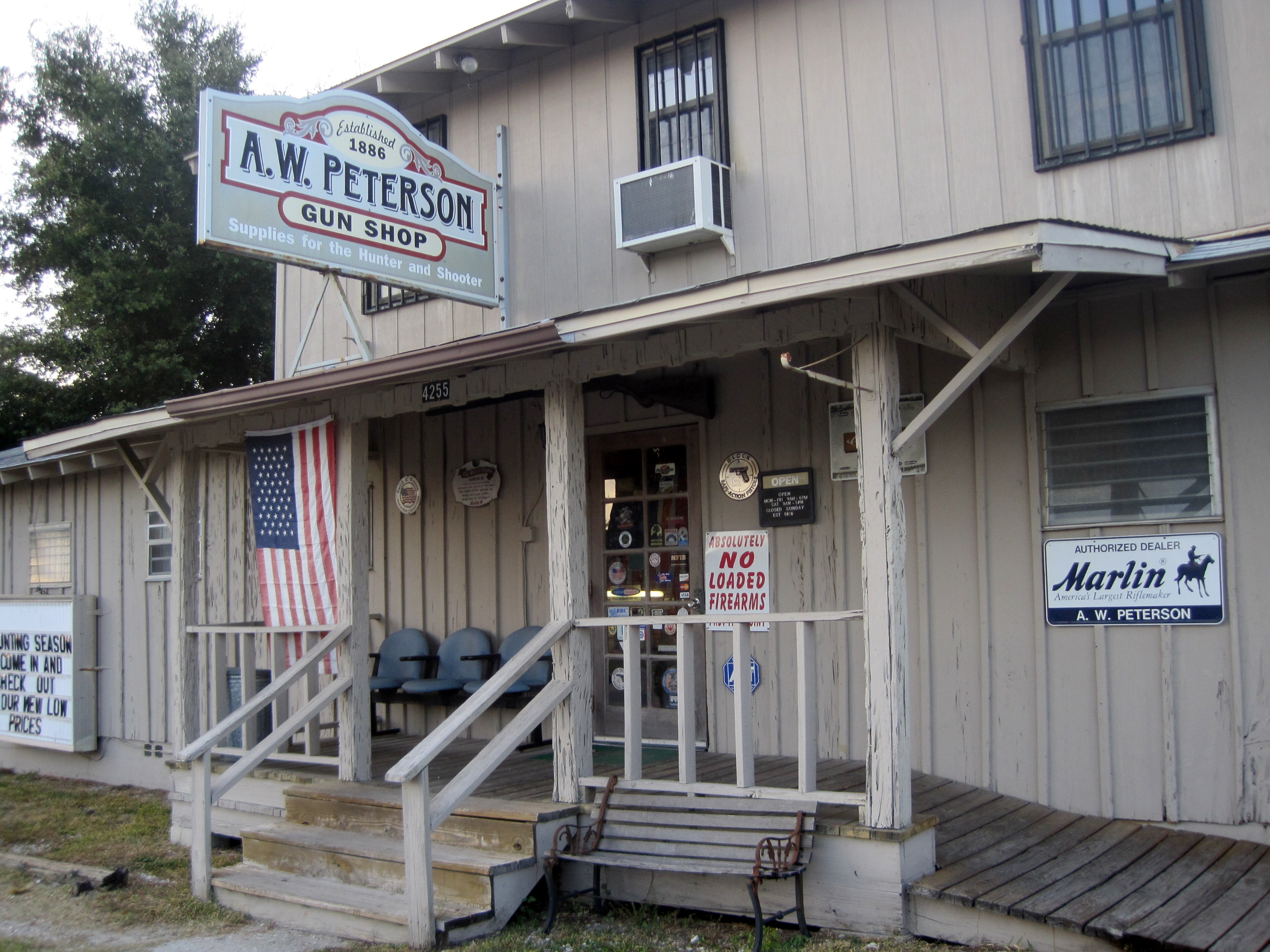 Disabled customers appreciate a ramp and friendly service a welcoming front porch for all