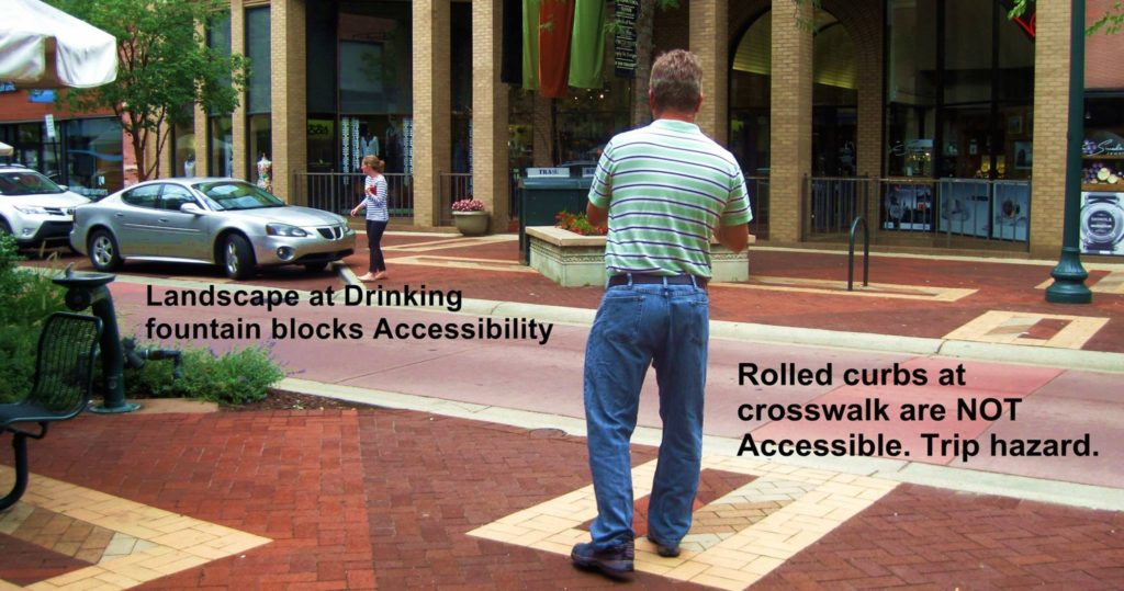 Accessible Main Street consultation. Measuring curbs and assuring equal access for people with disabilities. Tom Berry, Access Consultant. Disability Smart Solutions