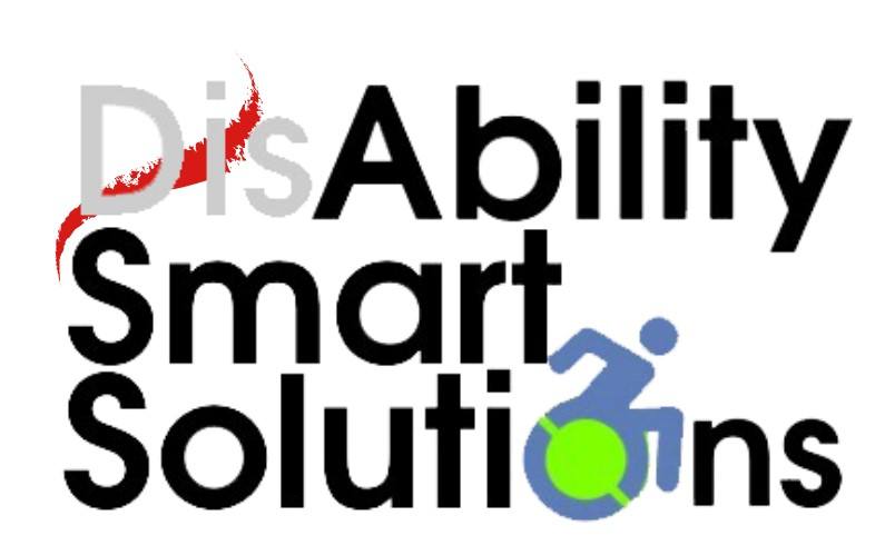 Disability Smart Solutions an ADA Consulting company logo. Tag line. Live, Innovate, Include